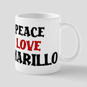 Peace Love Amarillo Mug