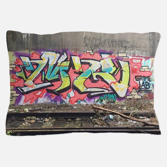 Graf in chi Pillow Case