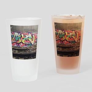 Graf in chi Drinking Glass