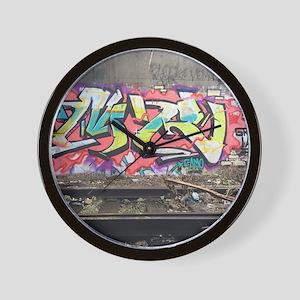 Graf in chi Wall Clock