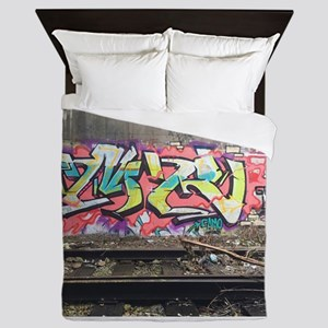 Graf in chi Queen Duvet
