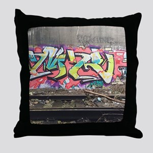 Graf in chi Throw Pillow