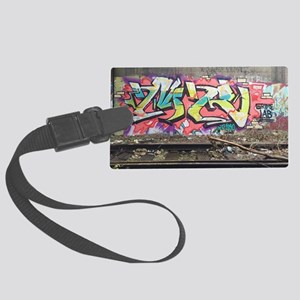Graf in chi Large Luggage Tag