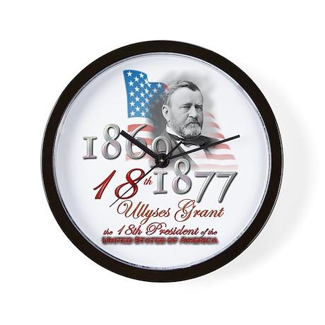 18th President - Wall Clock