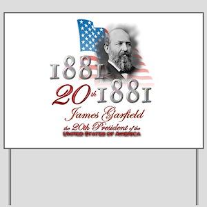 20th President - Yard Sign