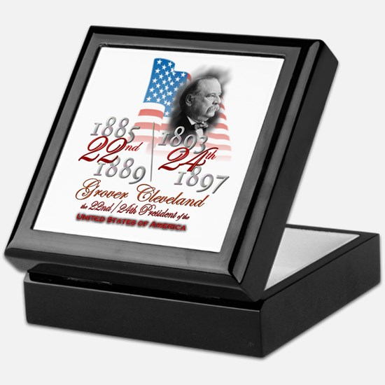 22nd / 24th President - Keepsake Box