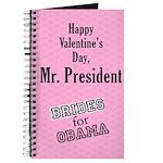 Happy Valentine's Day, Mr. President Journal