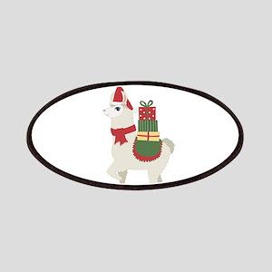 Cute Christmas Llama Patch