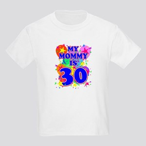 MOMMY BIRTHDAY Kids Light T-Shirt