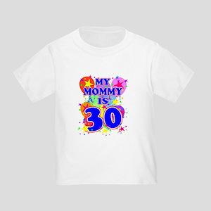 MOMMY BIRTHDAY Toddler T-Shirt