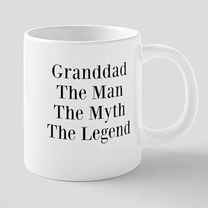 Granddad 20 oz Ceramic Mega Mug