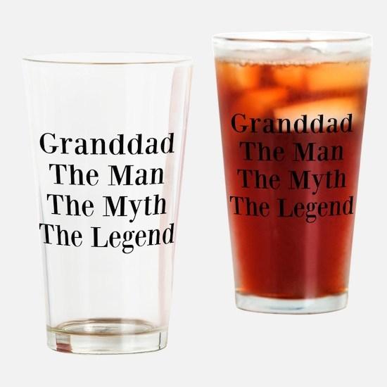 Cute Granddad Drinking Glass