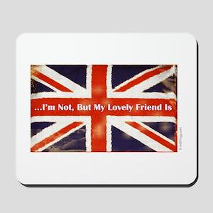 oddFrogg British Friends Mousepad