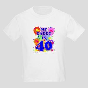 DADDY BIRTHDAY Kids Light T-Shirt