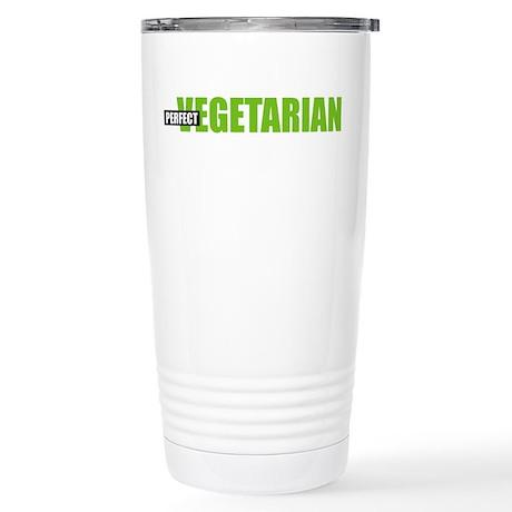 Perfect Vegetarian Stainless Steel Travel Mug
