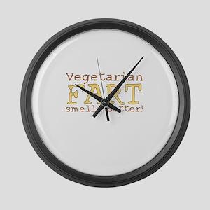 Whacky Veg Large Wall Clock