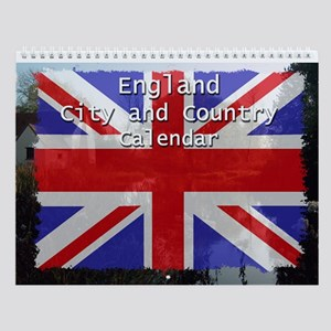 England City and Country Wall Calendar