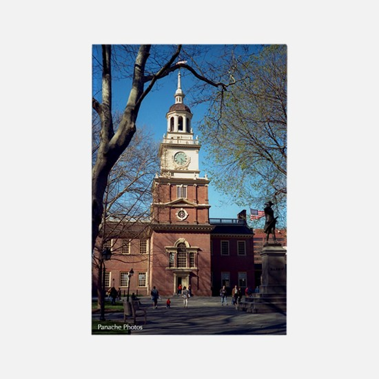 """Spring at Independence Hall"" Magnet"