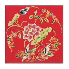 Medieval Chinese Ceramic Tile