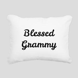 Blessed Grammy Rectangular Canvas Pillow