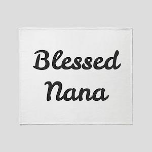 Blessed Nana Throw Blanket