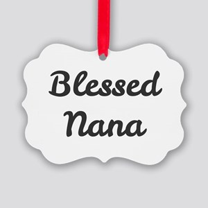 Blessed Nana Picture Ornament