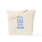 Namasté Girl Tote Bag