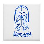 Namasté Girl Tile Coaster