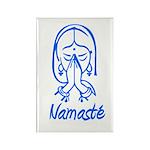 Namasté Girl Rectangle Magnet (100 pack)