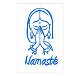 Namasté Girl Postcards (Package of 8)