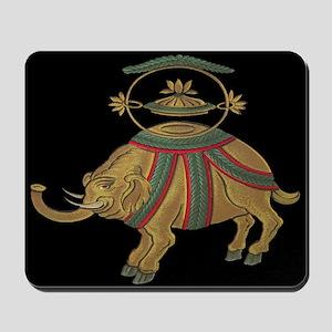 Decorative Elephant Mousepad