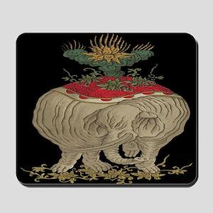 Decorative Asian Elephant Mousepad