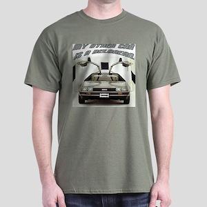 """Delorean"" Dark T-Shirt"