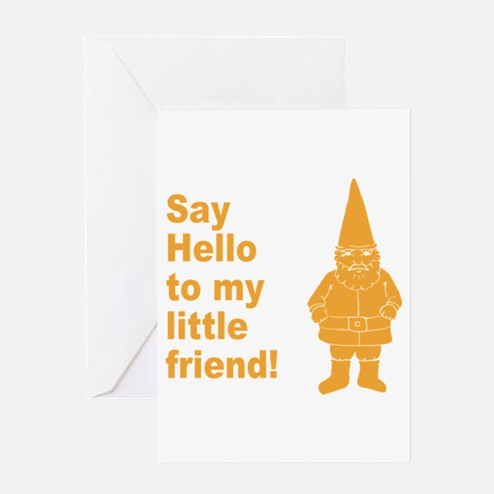 Say Hello Greeting Card
