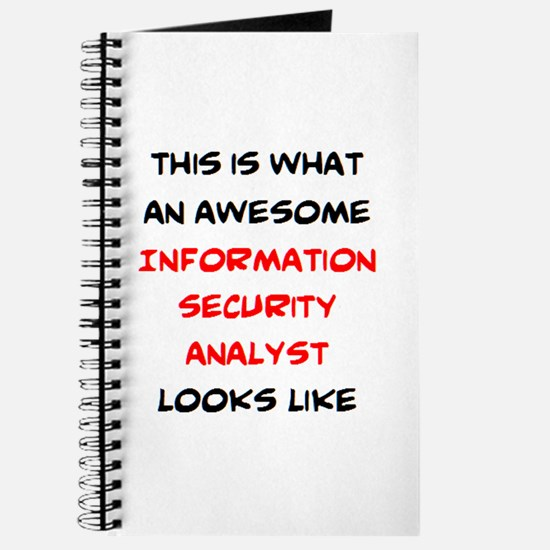 awesome information security analyst Journal