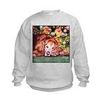 Golden Retriever Christmas Kids Sweatshirt