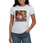 Golden Retriever Christmas Women's T-Shirt