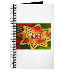 PEACE - COLORFUL LOTUS Journal