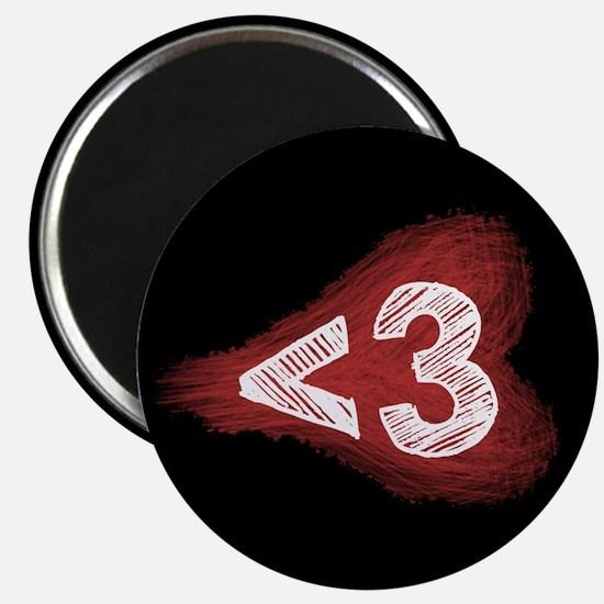 Less Than Three - Magnet