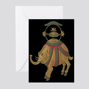 Asian Elephant Greeting Cards (Pk of 20)
