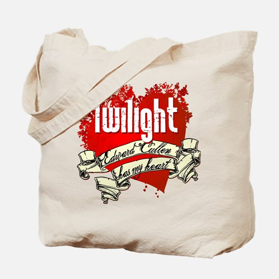Twilight Tattoo Heart Tote Bag
