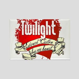 Twilight Tattoo Heart Rectangle Magnet
