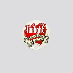 Twilight Tattoo Heart Mini Button
