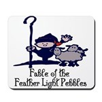 Feather Light Pebbles Mousepad