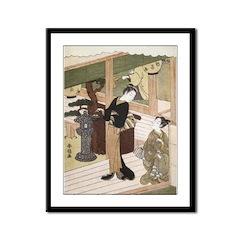 Eirakuan Teahouse Framed Print