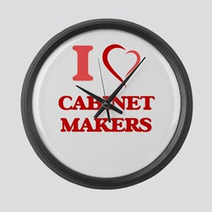 I love Cabinet Makers Large Wall Clock