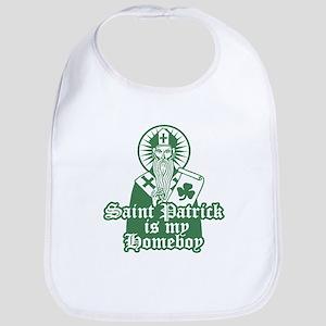 Saint Patrick is My Homeboy Bib