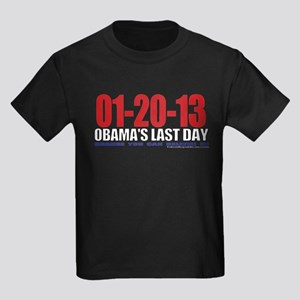 Last Day 1-20-13 Kids Dark T-Shirt