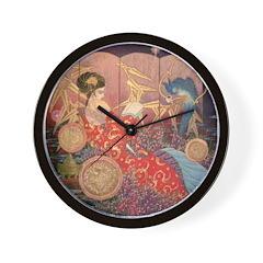 Asian Beauty Wall Clock
