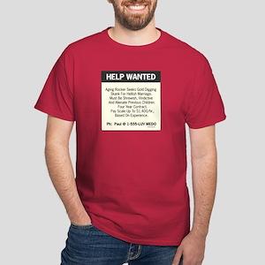oddFrogg Help Wanted Dark T-Shirt
